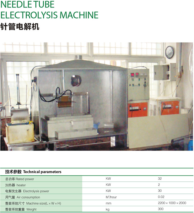 Needle manufacturing